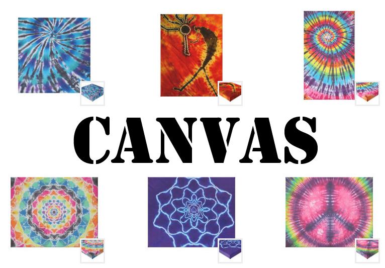 tie dye canvas from zazzle